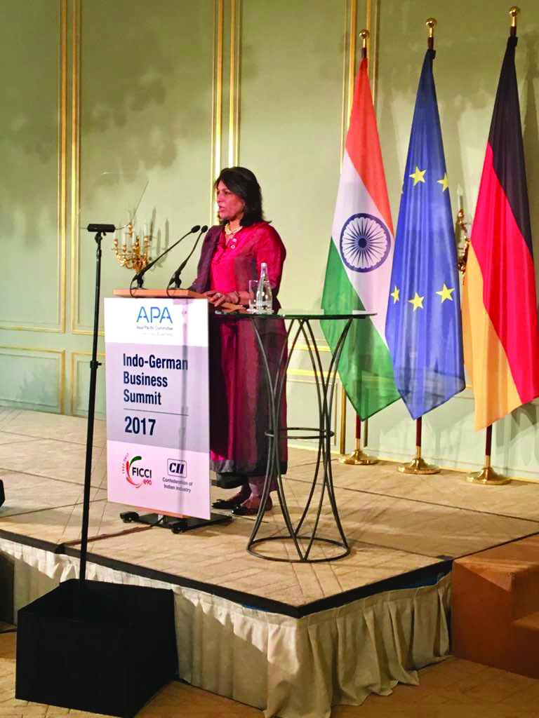 CII president Shobhana Kamineni leads CEO delegation to Berlin