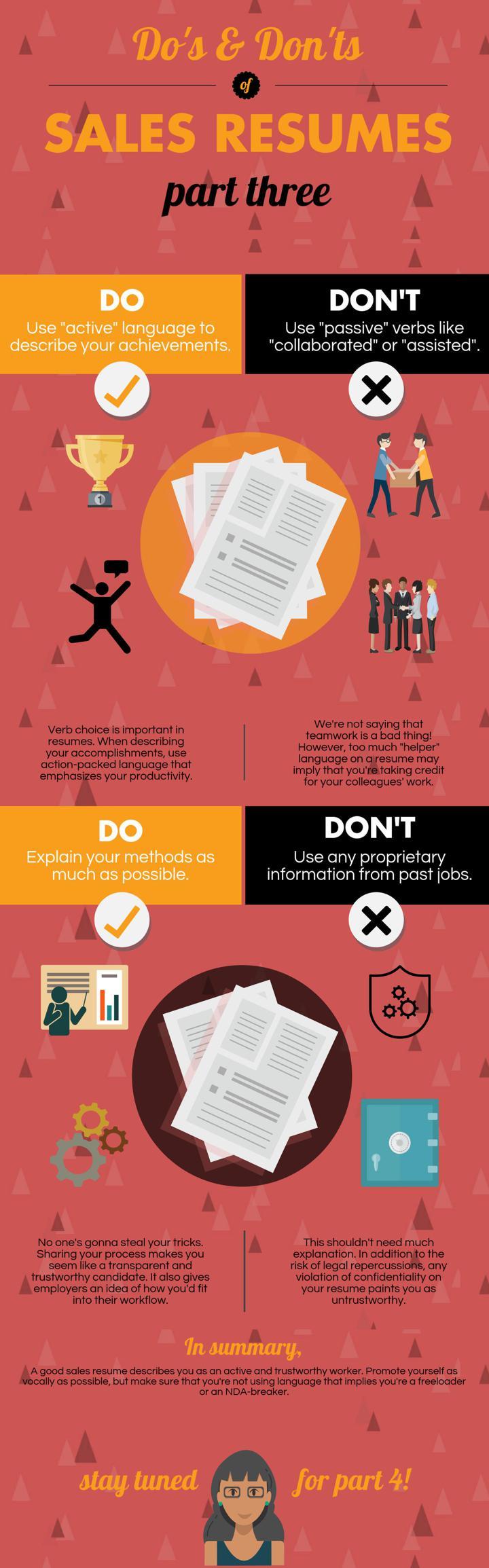 sales-resume-infographic
