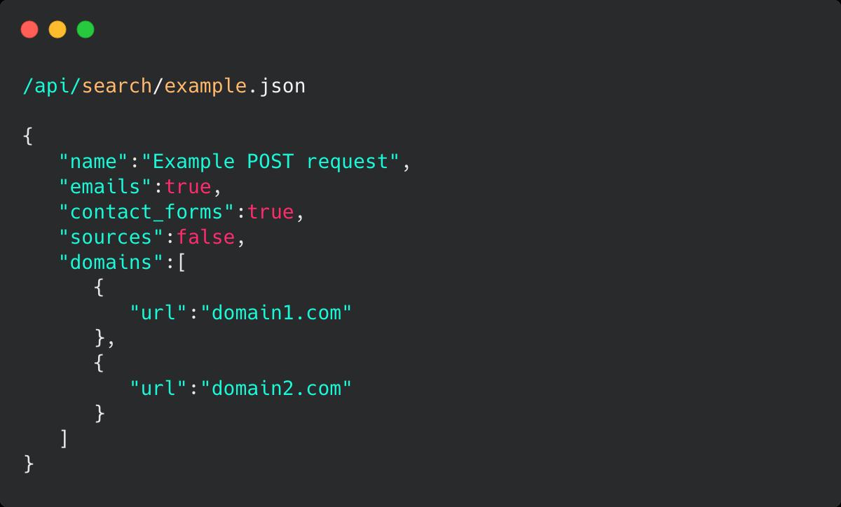 Mailcharmer API