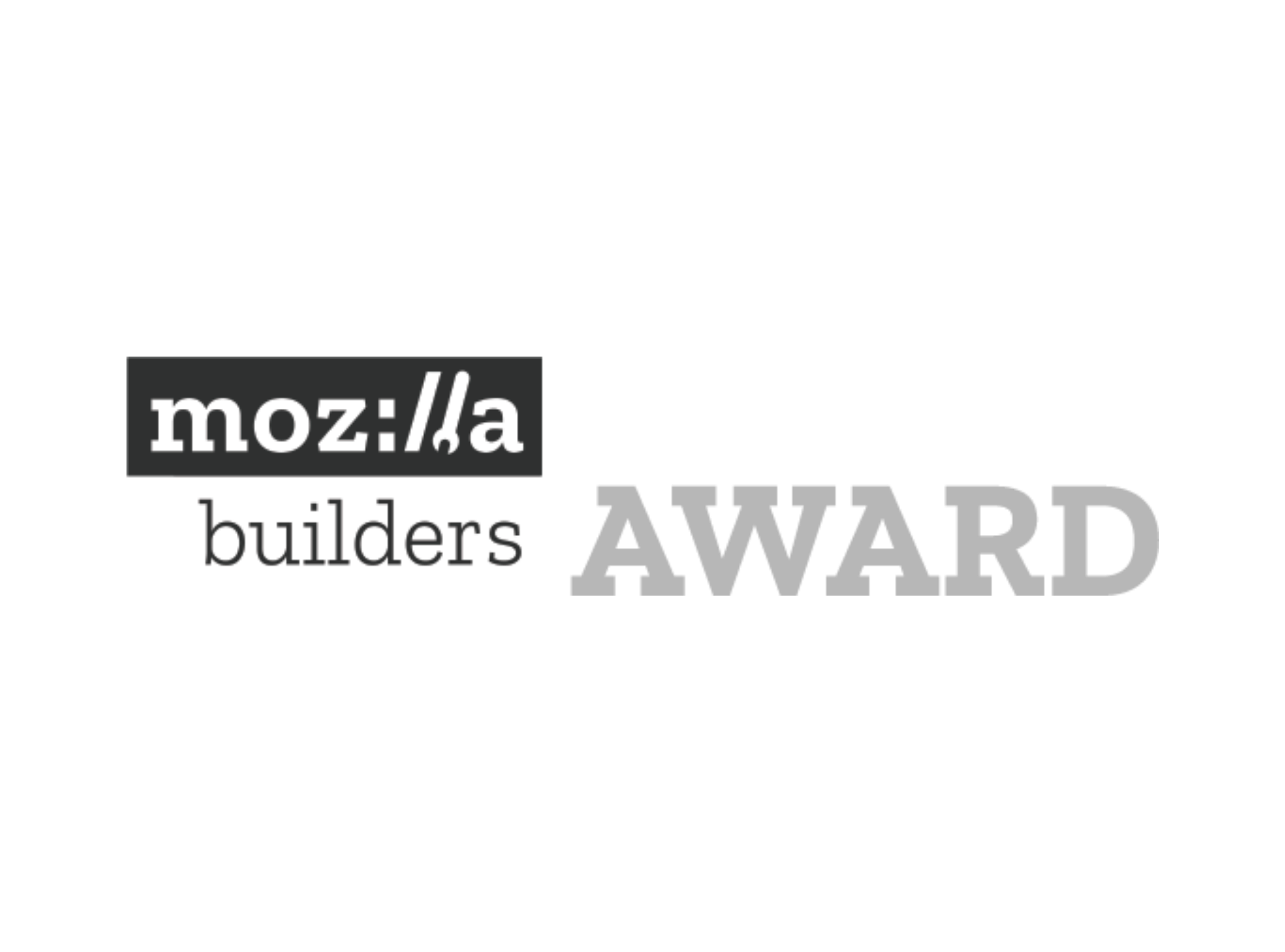 Mozilla Builders Award