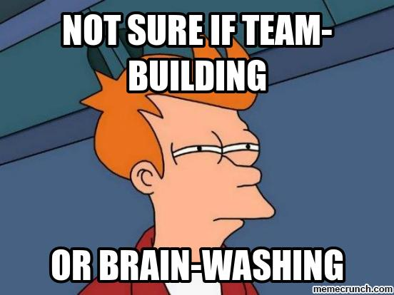 Team Building Meme Futurama