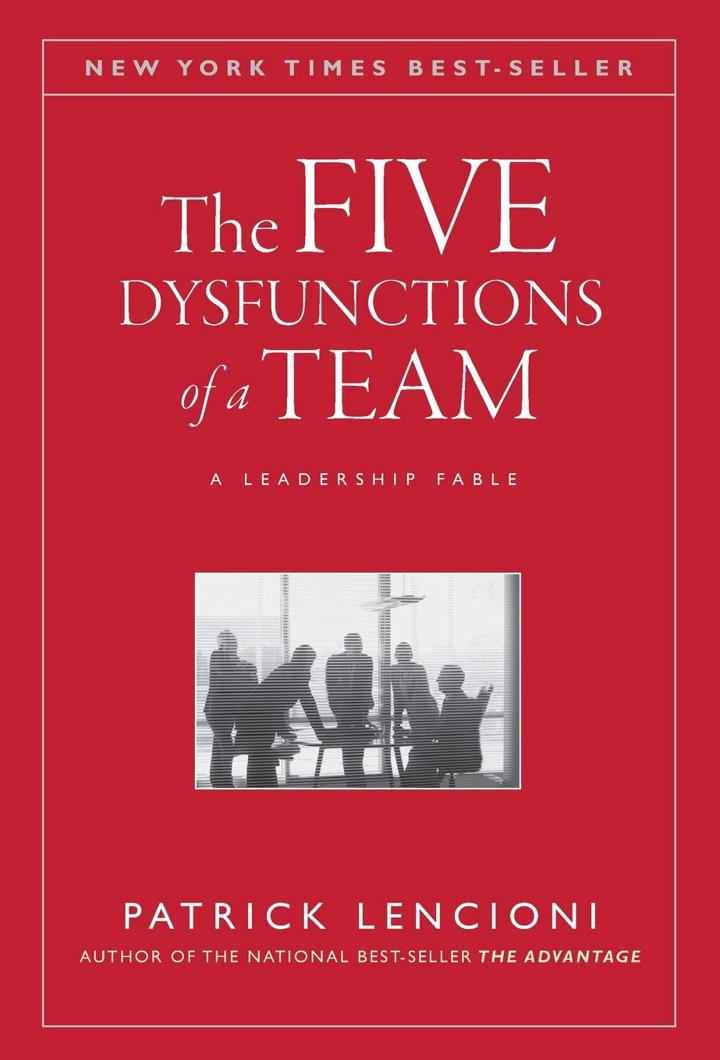 The Five Dysfunctions of a Team Book by Patrick Lencioni