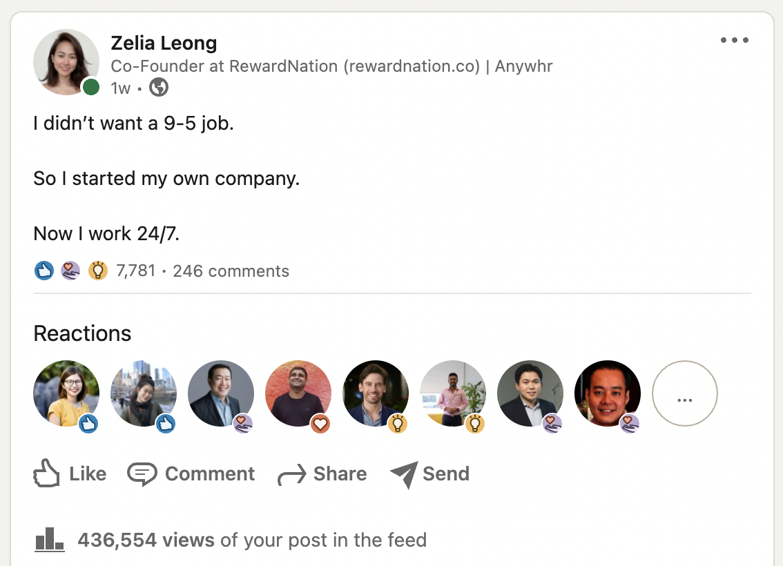 5 Things I Learned From Creating An Accidental Viral LinkedIn Post