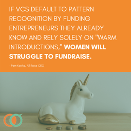 Women will struggle to fundraise