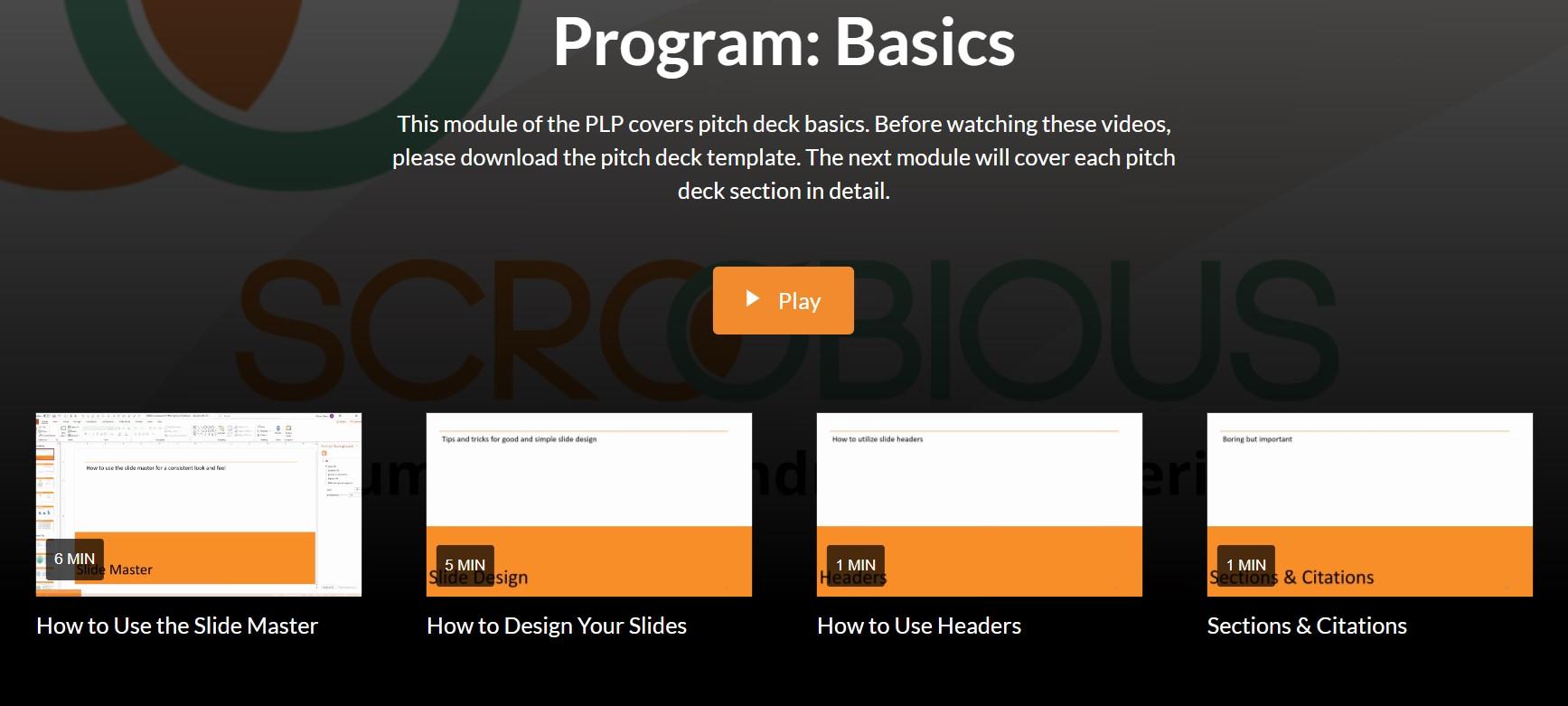 PiP modules