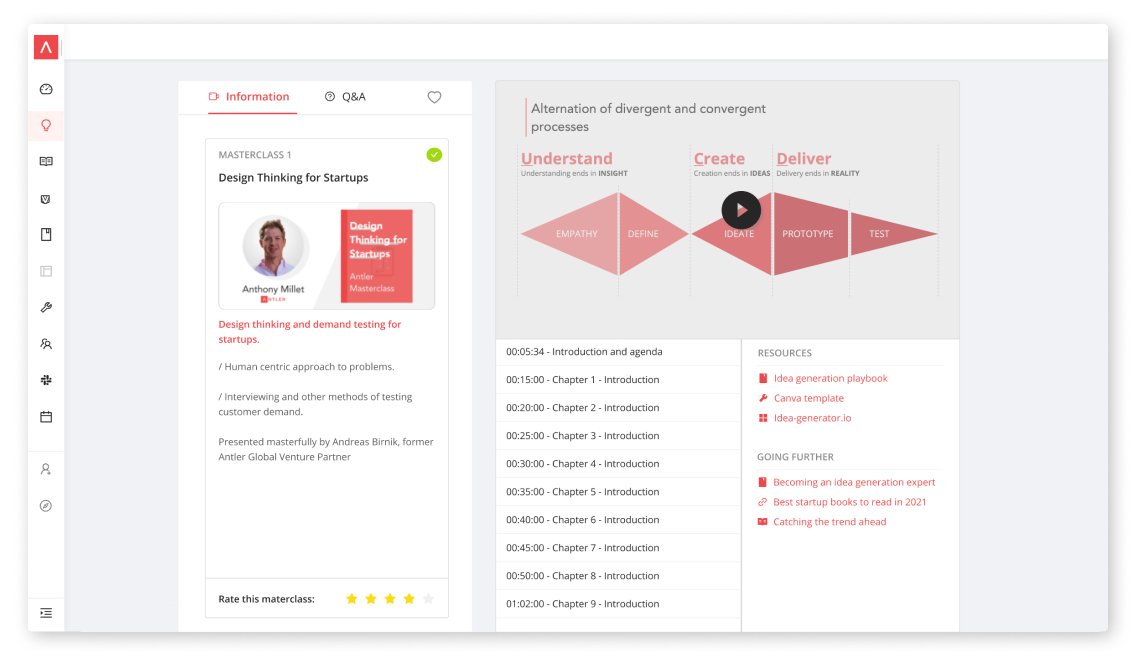 Startup Course Masterclass