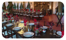 holidays wedding venue