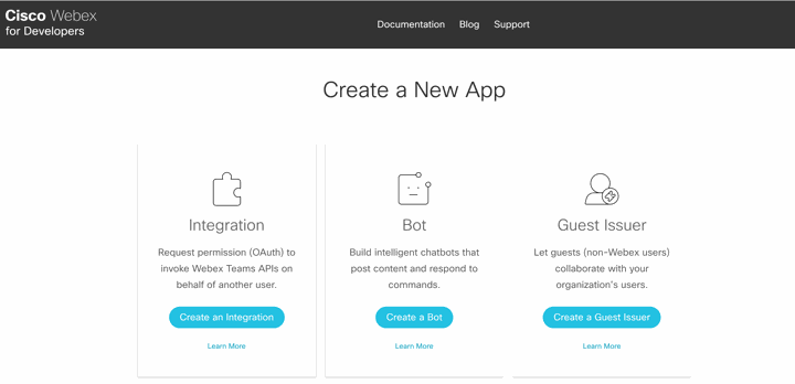 Cisco Webex Teams Hacks: Developer Hub