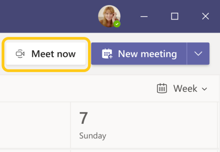 Microsoft Teams Updates (July - September) -- Meet now