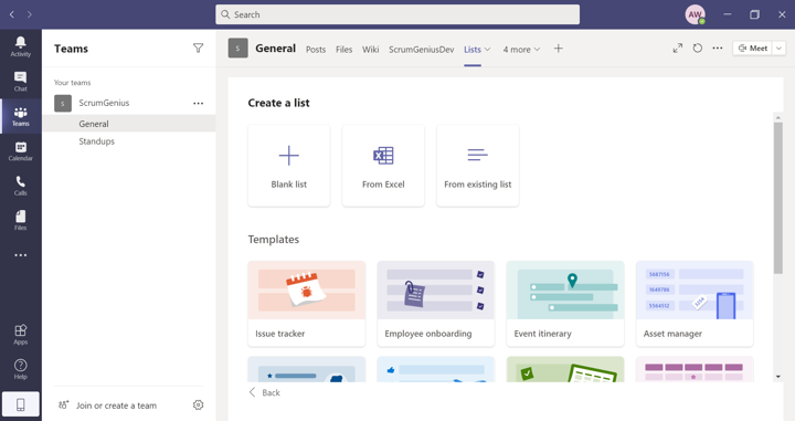 How to Use Microsoft Teams Effectively 4:  Teams and Lists