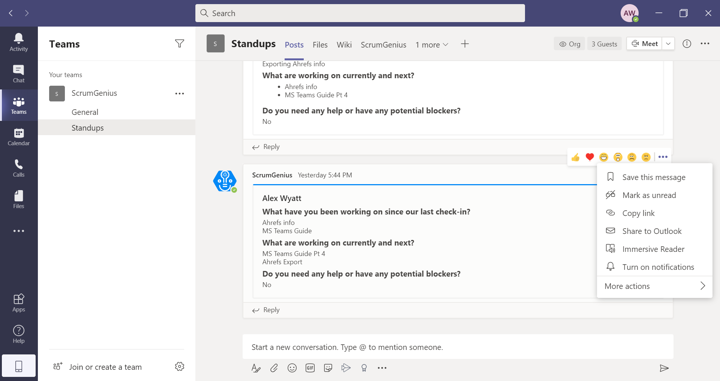How to Use Microsoft Teams Effectively 4: Outlook and Teams 1