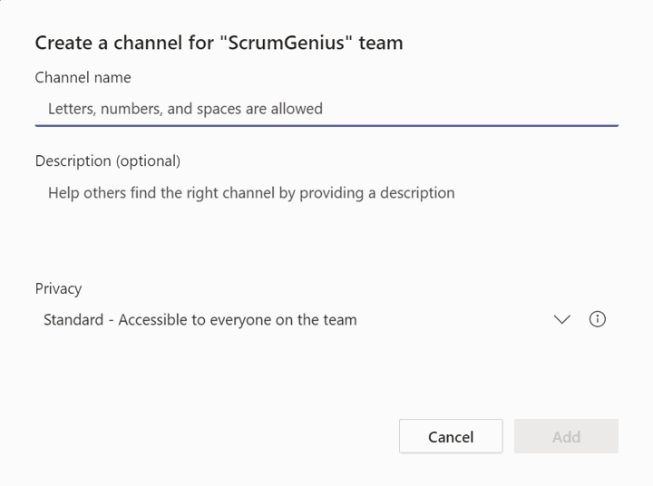 How to Use Microsoft Teams Effectively Guide 3: new channel 2