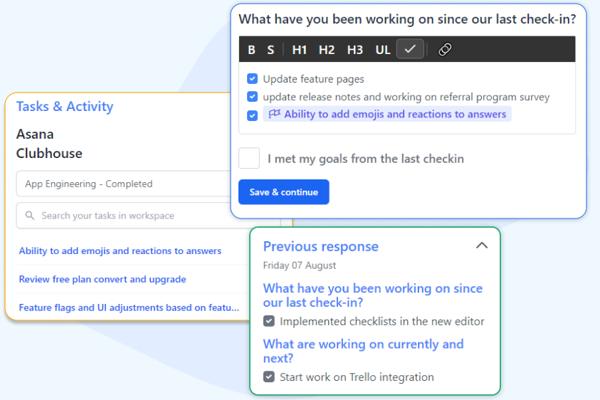 post meeting feedback