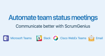 ScrumGenius Press Banner