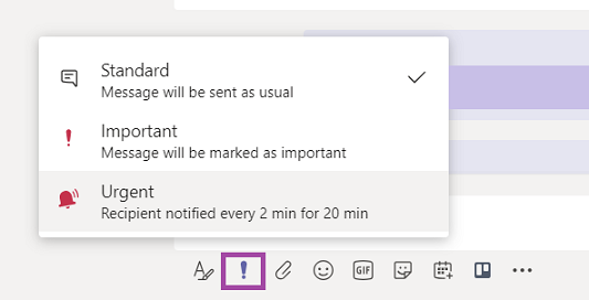 Microsoft Teams Updates (July - September) -- Priority Notifications