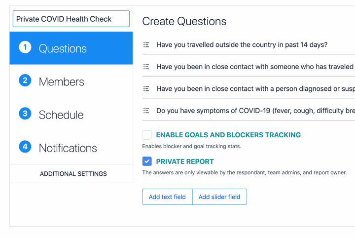 ScrumGenius May Product Updates - Private Questions