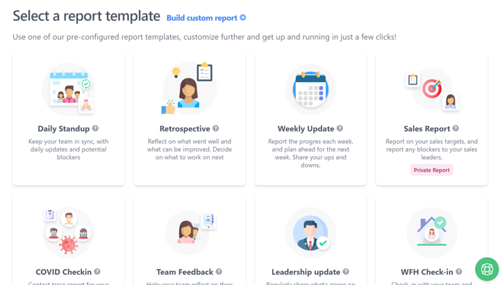 scrumgenius report templates