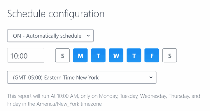 How to Configure ScrumGenius for Multiple Timezones -- report timezone