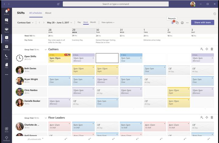 Microsoft Teams Tips and Tricks - Shift Scheduling
