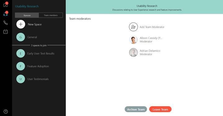 Cisco Webex Teams Hacks: Teams and Spaces