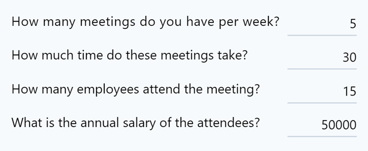 how much time and money are you wasting in standups -- stats
