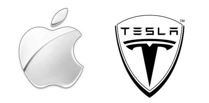 Tesla and Apple