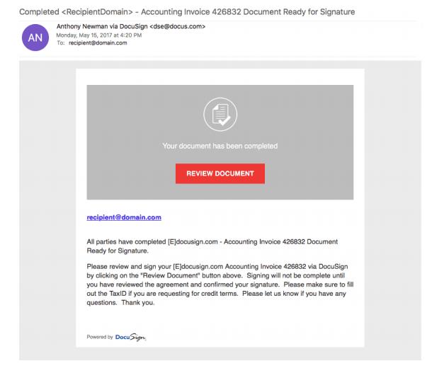 New Scam Alert: DocuSign Phishing Attack