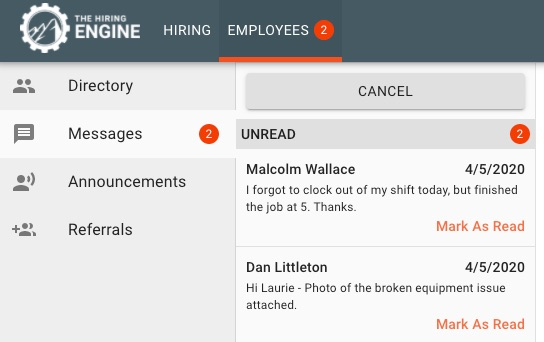 A Full Communication Platform for Employees