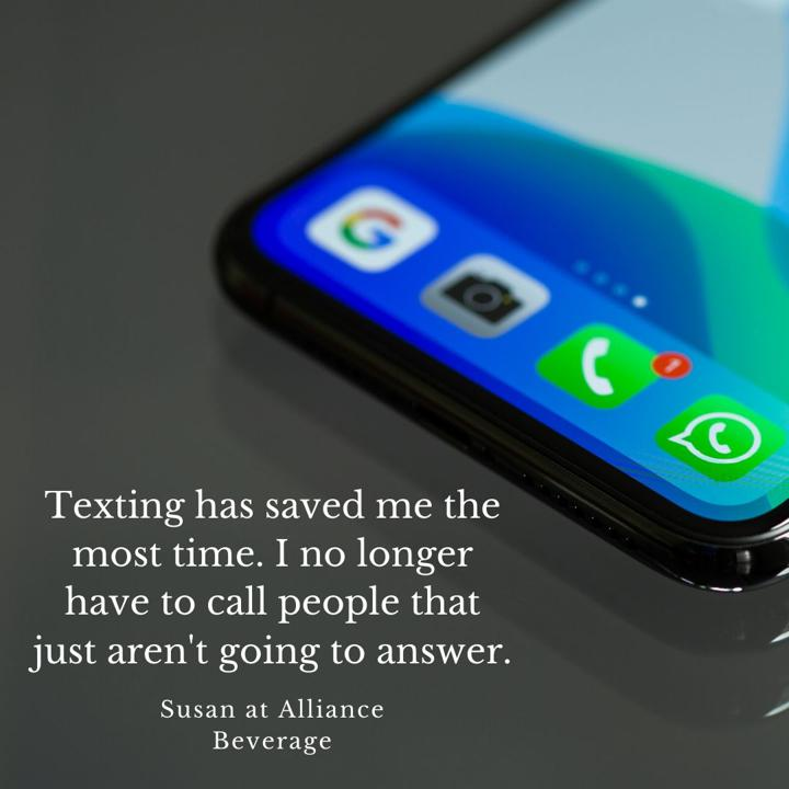 Alliance Beverage Automated Texting