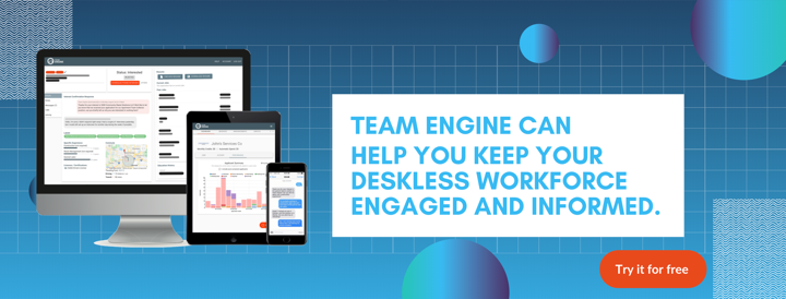 Team Engine Free Trial CTA Button