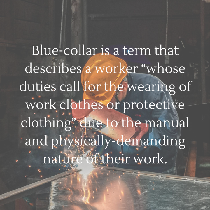 Blue-collar worker definition