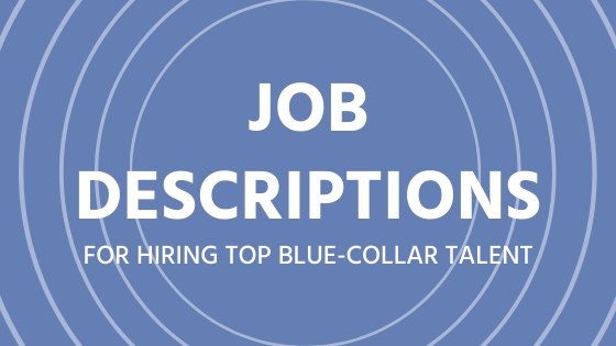Blue-collar Job Description Templates