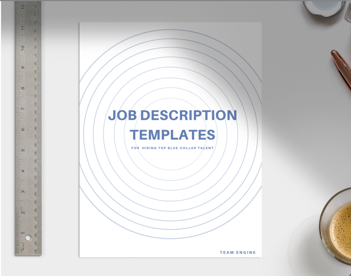 Blue-Collar Job Description Templates CTA button