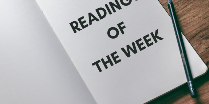 Team Engine's Readings of The Week