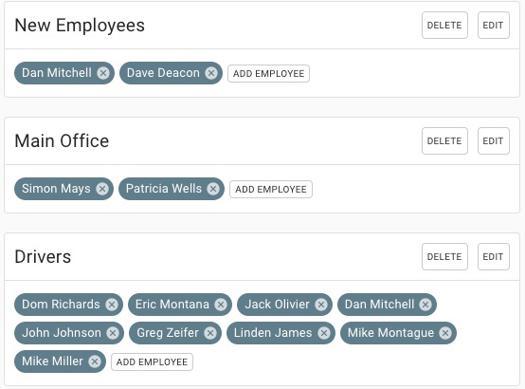 Texting Employee Surveys to Groups