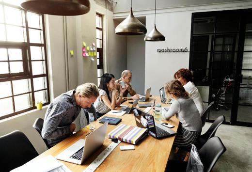 Executive Coaching Client Meeting