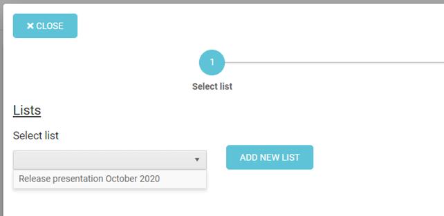 Task List Overview update