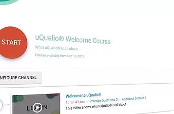 uQualio Welcome Course