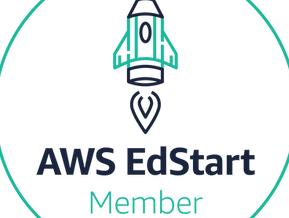 AWS EdStart Member logo