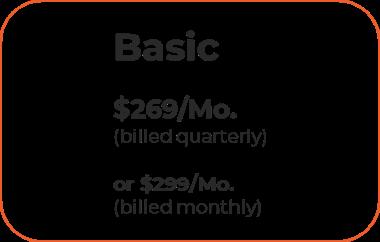 Pricing Basic level