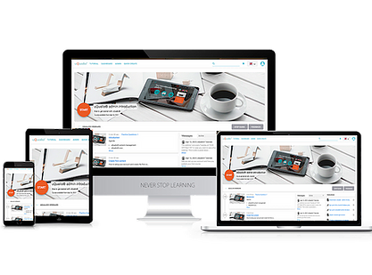 Create simple, impactful, and customized online training courses for internal and external use