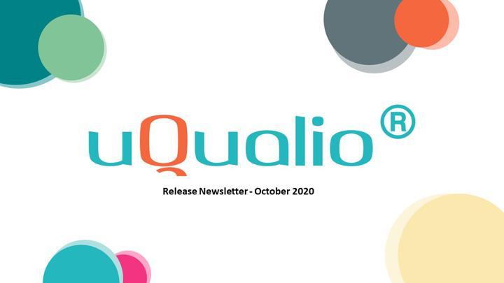 uQualio® Product News, October 2020