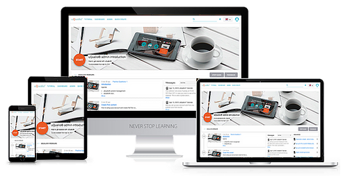 Ready to create your own training courses?  uQualio is your all-in-one video eLearning authoring LMS system, customized by you for your business needs.