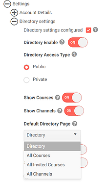 Image showing directory customization options in uQualio software