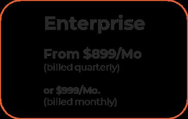 Pricing enterprise level