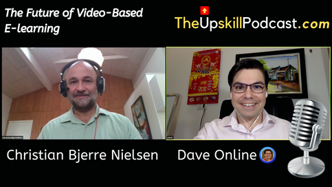 Christian Bjerre Nielsen, and Dave on video podcast