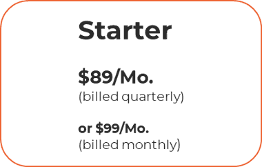 Pricing starter level