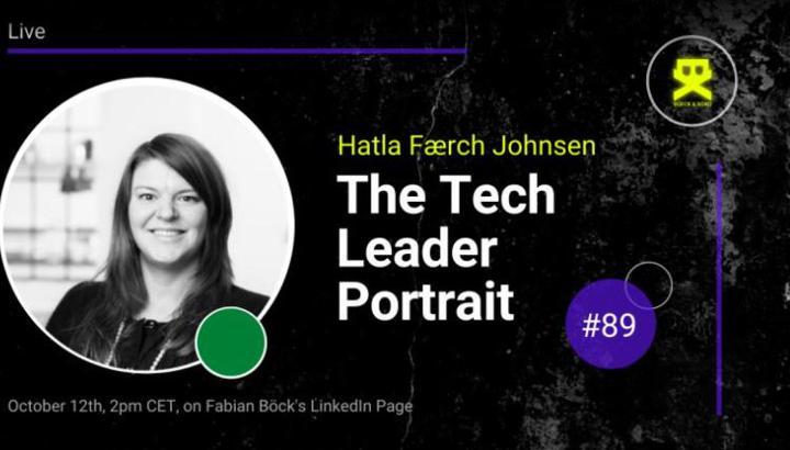 The tech leader portrait Hatla Johnsen