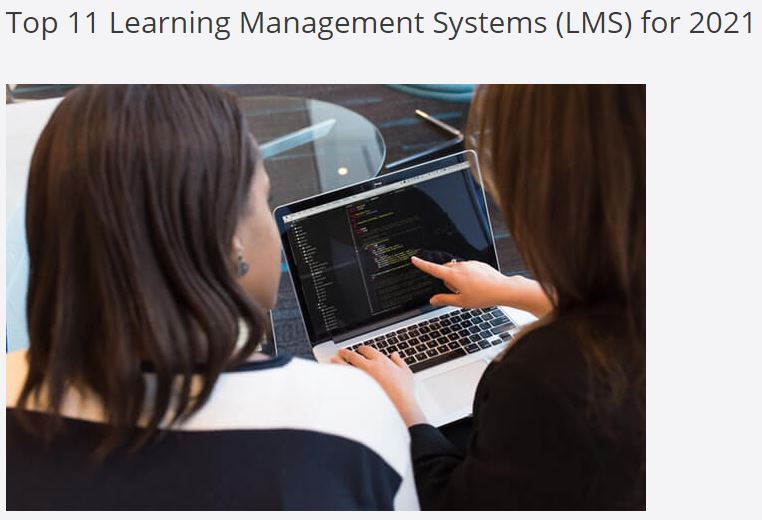 uQualio among 'Top 11 Learning Management Systems 2021'!