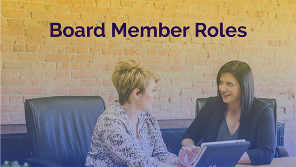 Board roles and responsibilities for non-profit associations and charities